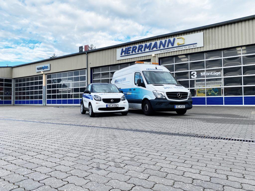 Omnibus Werkstatt & Lackiererei E.Herrmann GmbH in Schwabach